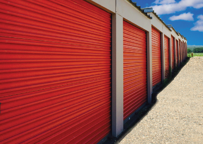 West Seneca Self Storage outdoor units